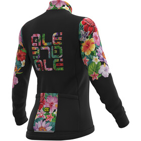 Alé Cycling Solid Alé Lab Flowers Maillot Mujer, black